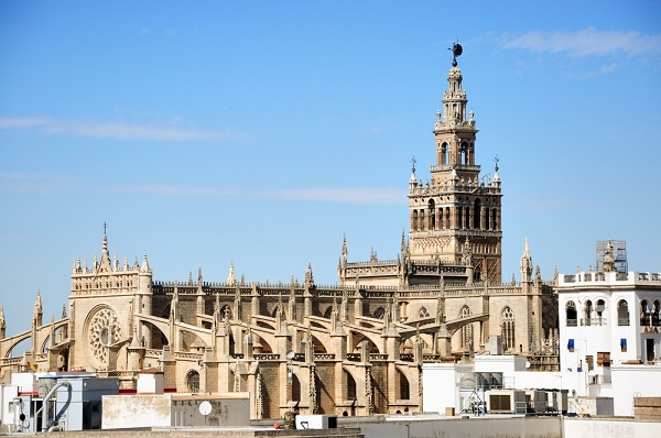 Giralda Klokkentoren Sevilla